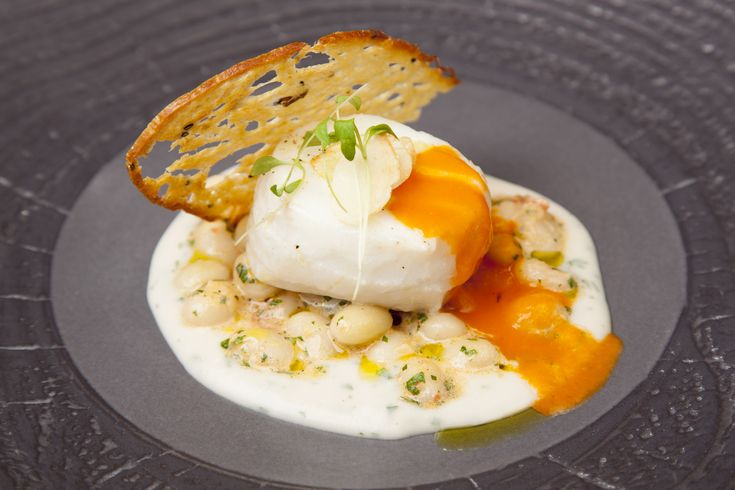 SOUS VIDE COD WITH CO CO BEANS AND TOMATO CONFIT - If you think cod is boring, you haven't tried this delicious sous vide recipe from chef Daniel Galmiche. The flavours are sensational!