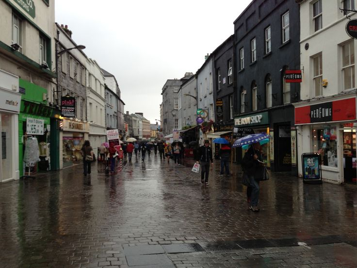 Rainy day in Galway!