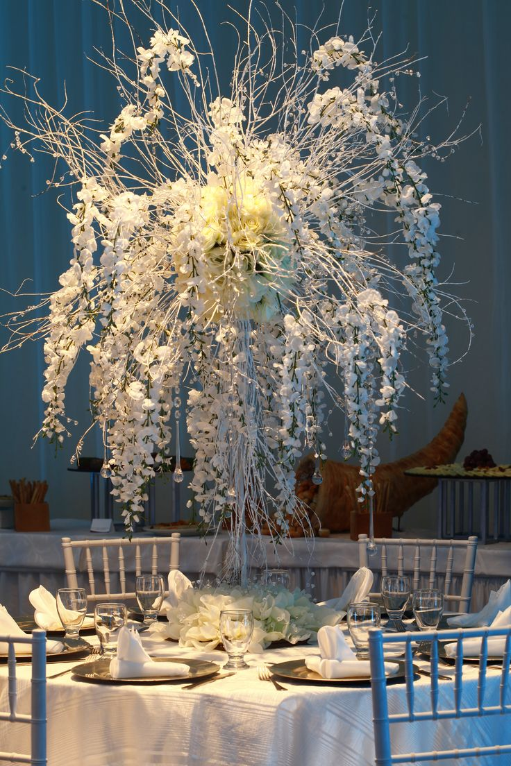 White Wedding Theme - Crowne Plaza San Salvador