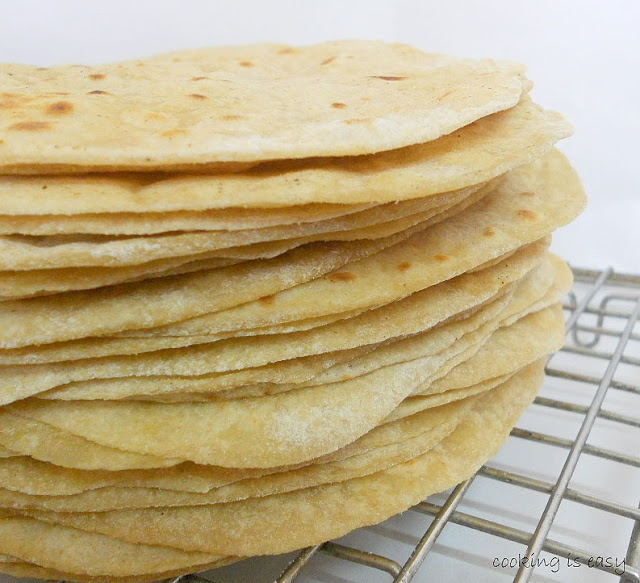 Learn how to make Indian flatbread from scratch....and save money.