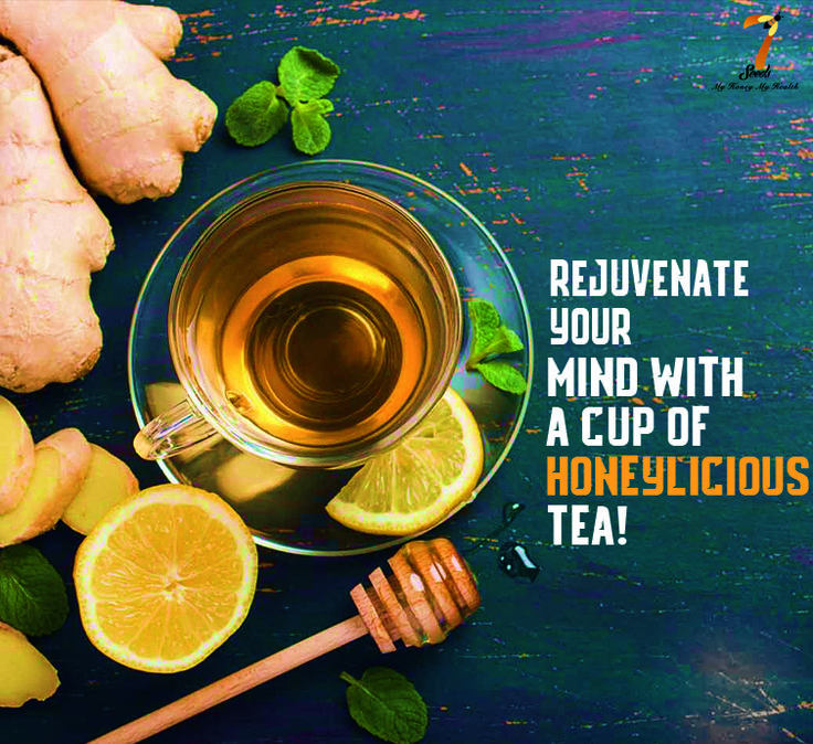 Nothing can beat the combination of honey and tea. Rejuvenate your mind with a cup of honeylicious tea! #7SeedsHoney #HoneyILoveYou #Tea #Honey #Refresh #HoneyTea #InstaLike #InstaGood #nature #NatureLove #InstaPic #TagsForLikes #Follow #Love #Happiness #relax #HoneyBee #CalmYourMind #igers #Potd #like #InstaDaily #SaveTheBees #HealthyHoney #GoodHealth #Health #Happy