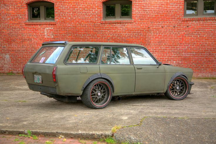 This is one badass little wagon!