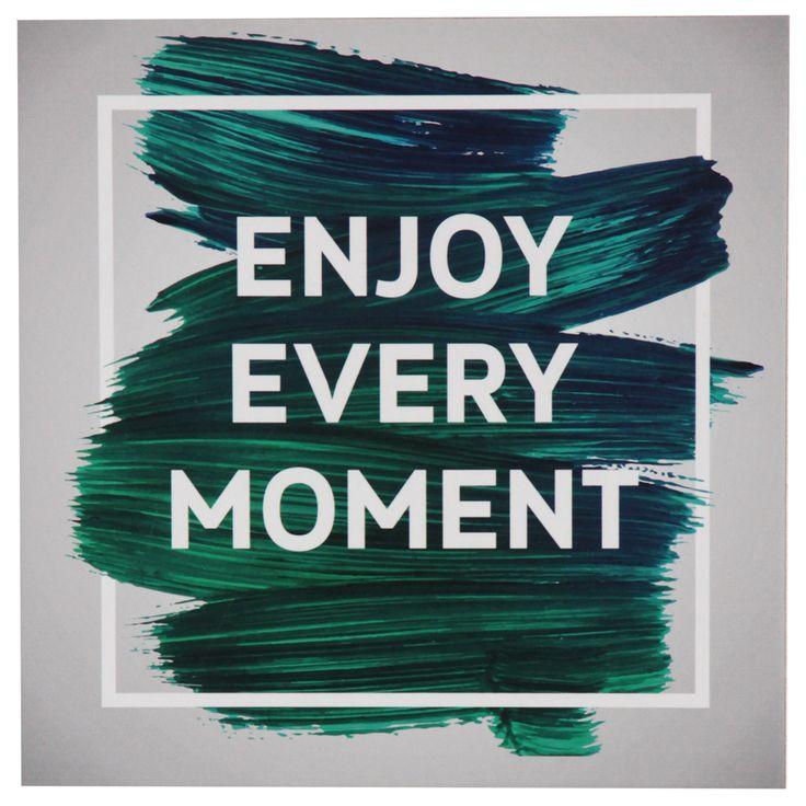 O Quadro Moment traz frase positiva, com design descolado para sua parede. Transforme seu espaço e seu dia-a-dia com quadrinhos divertidos! #picture #frame #decoratingideas #decorate #art #photography #painting #inspiration