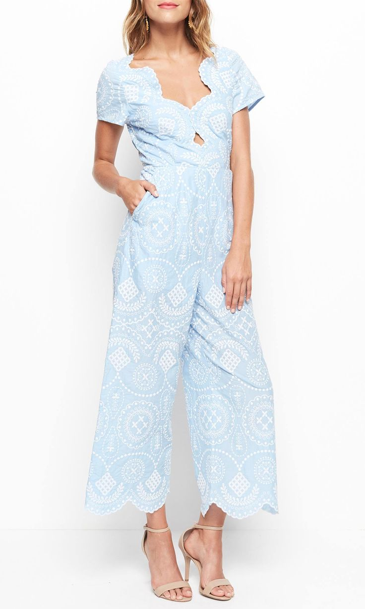 Alice McCALL - Crave You Jumpsuit - Sky Blue