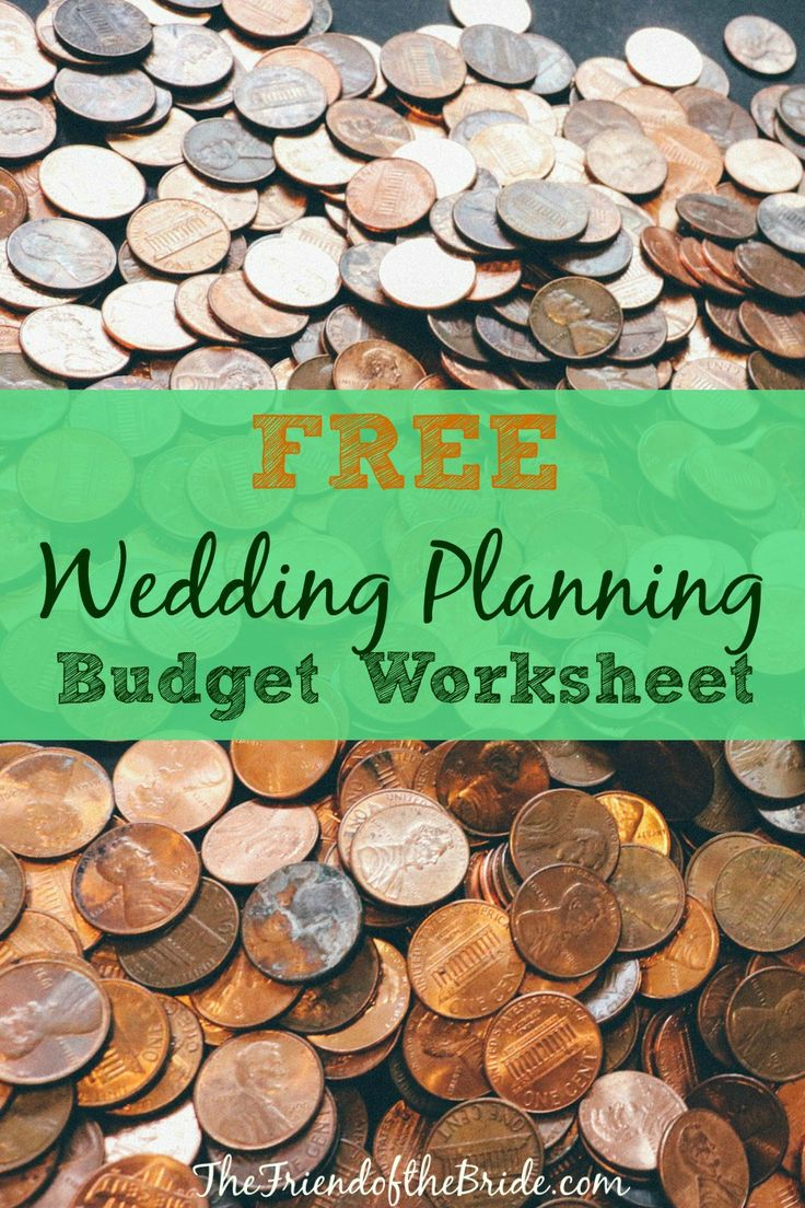 wedding planning checklist spreadsheet free%0A Free Wedding Planning Budget Worksheet