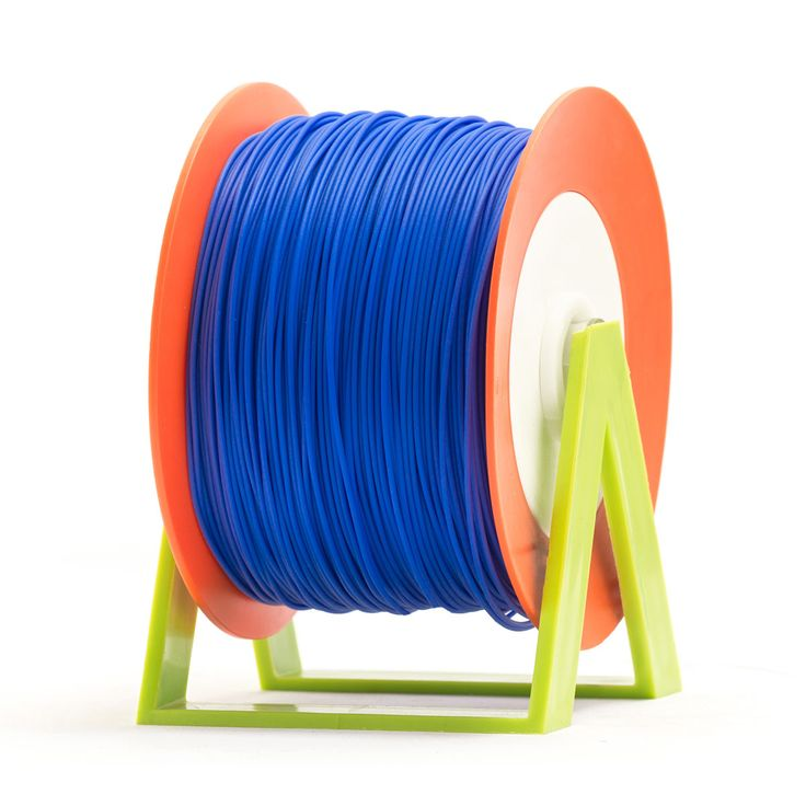 PLA Filament Color Blueberry EUMAKERS | Diameter 1,75mm | New spool is convertible into a coat hanger. Spool holder included | Weight: 1 Kg | www.monzamakers.com #3Dprinting #3Dprint #3Dfilament #3Dfilaments #Eumakers #MonzaMakers
