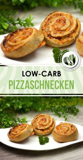 Die Pizzaschnecken sind perfekt als Snack aber auch als low-carb Hauptspeise. Zudem sind sie auch noch glutenfrei.