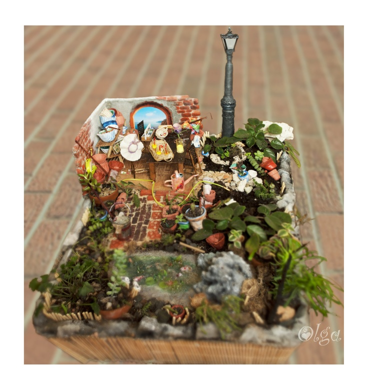 Original Pinner Says I Can 39 T Wait To Make My Own Miniature Garden El Tocador De Cenicienta
