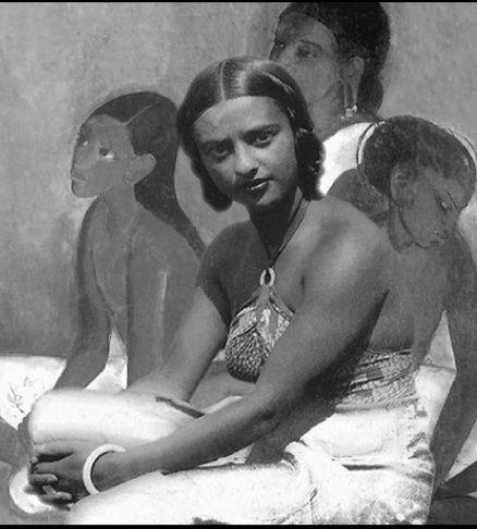 Indian painter Amrita Sher-Gil