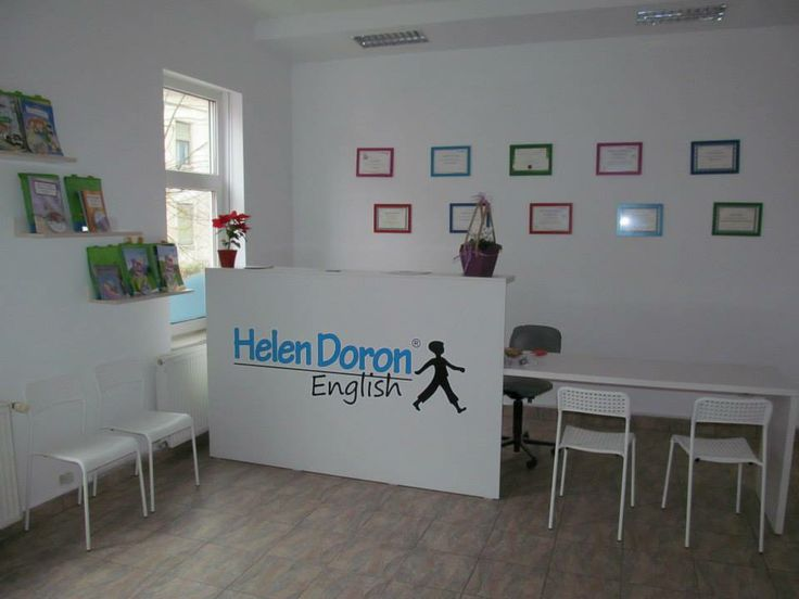 Helen Doron English front office.