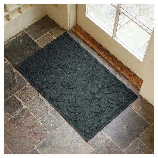 Aqua Shield doormats absorb water and scrape dirt, mud, sand and snow from shoes and paws to keep your entryway clean & dry.  The anti-static polypropylene face will not mold, mildew, fade or rot, and can absorb an entire gallon of water per square yard.  The commercial grade rubber backing is green-friendly with 20% recycled content and is certified slip resistant by the National Floor Safety Institute.  Easy to care for - just hose clean & line or air dry.  $35.99