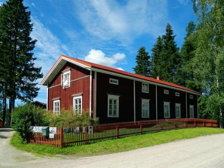 Kurikan museo ja kotiseututalo. Kurikka local history museum. Finland.