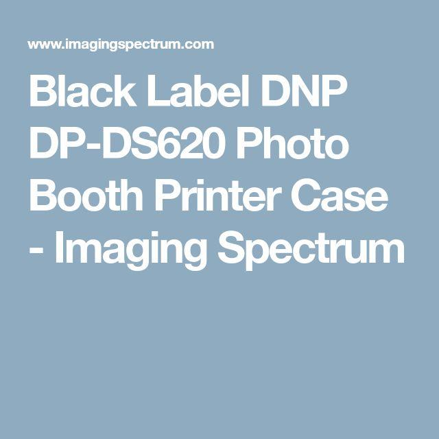 Black Label DNP DP-DS620 Photo Booth Printer Case - Imaging Spectrum