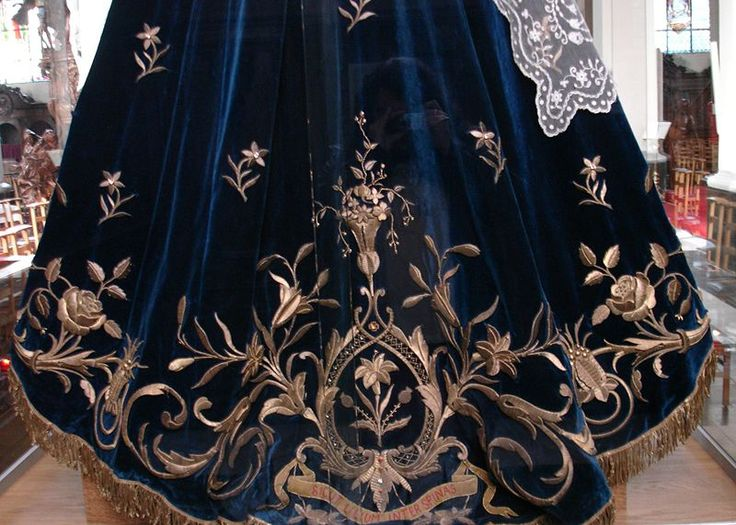19th century gold embroidery.
