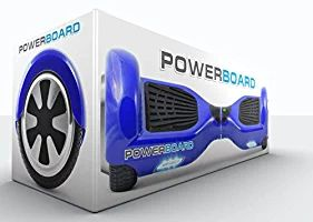 Powerboard by HOVERBOARD - (SAFE UL 2272 CERTIFIED) Blue - 2 Wheel Self Balancing Scooter with LED Lights - Hands Free Battery Powered Electric Motor --Personal Transporter - USA Company