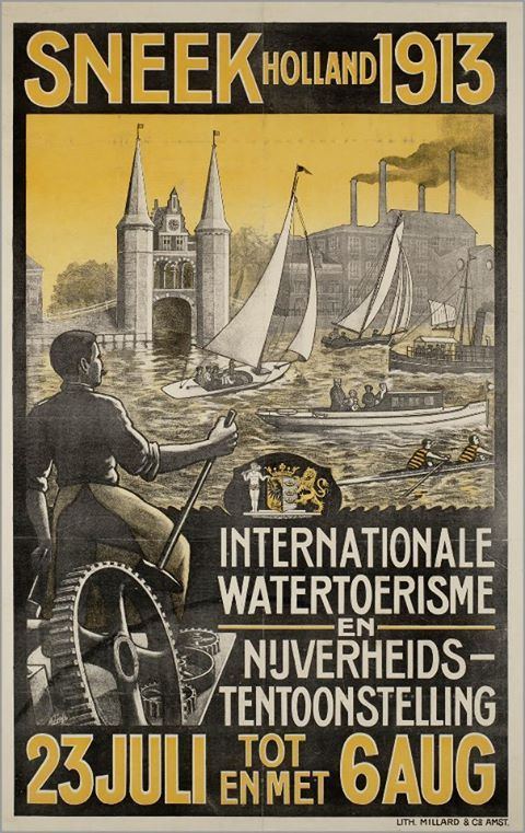 My Grandfathers sister Sytske immigrated from Sneek with her husband Frans Van der Woud and two children in 1909. SNEEK - FRIESLAND
