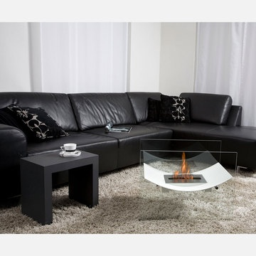 """Veniz Fireplace 26"""" White, $1,080, now featured on Fab."""
