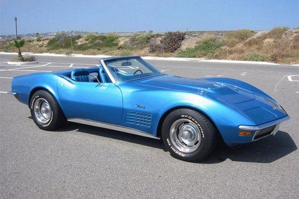 1970 rust orange corvette convertible | 2007 Corvette Last Year for Le Mans Blue?