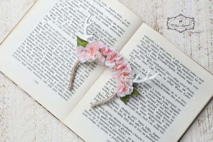 flower antlers,flower headband,antlers for girl,woodland,nature inspired,photo session,photo prop by OhDearAccessories on Etsy