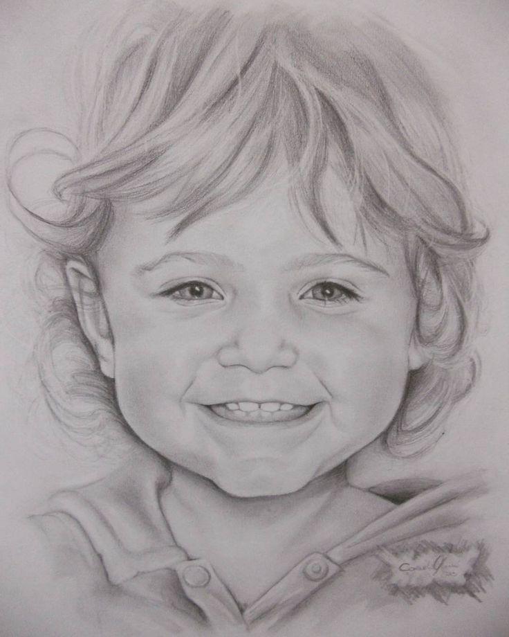 Раскраска, детские лица картинки нарисованные карандашом