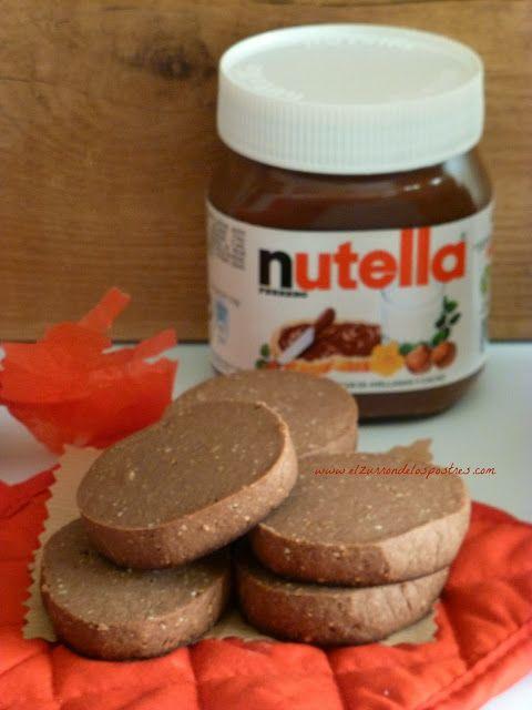 El Zurrón de los Postres: Polvorones de Nutella