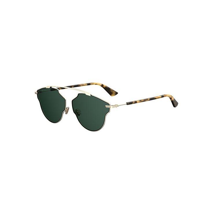 Gafas de Sol DIOR SO REAL POP Light Gold Havana - Green