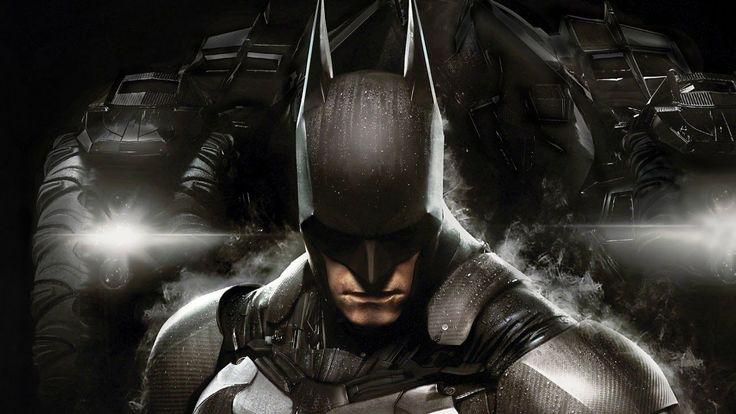 Batman Arkham Knight Batmobile PS4 Gameplay Demo - E3 2014