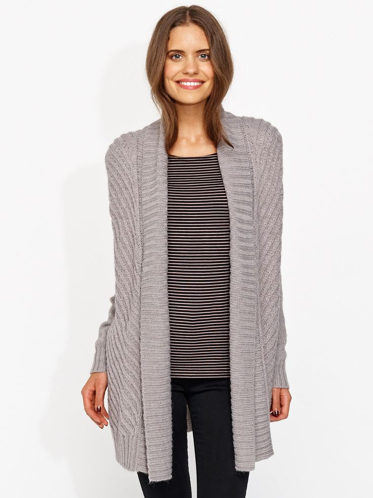 Image for Raised Pattern Chunky Cardi from Portmans