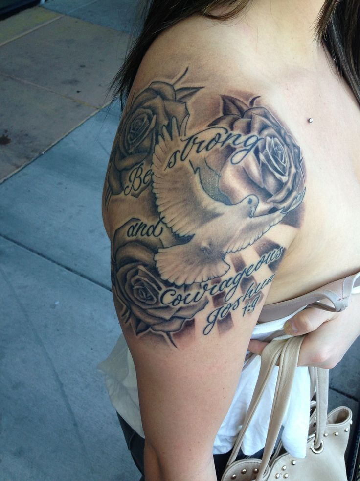 17 best images about tattoos on pinterest sleeve angel for Joshua 1 9 tattoo