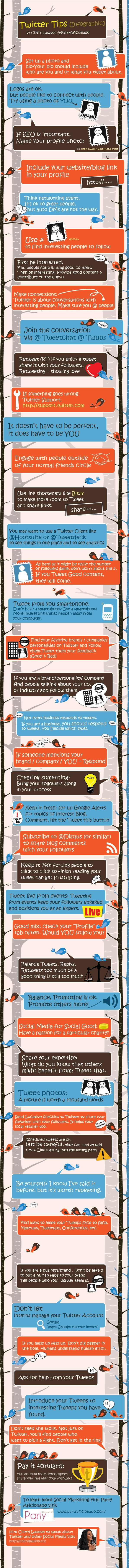 How to use Twitter #infographic