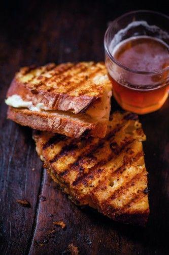 Grilled Mozzarella #Sandwich #recipe from Debi Mazar and Gabriele ...