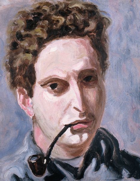 Carlo Levi – self portrait with pipe – 1940