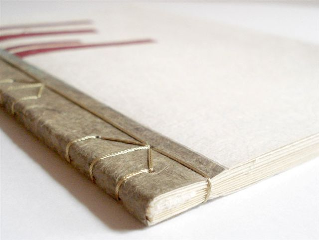 libro cosido: OCTUBRE cursos de encuadernación creativa