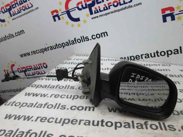 Recuperauto Palafolls, le ofrece en stock una amplia gama de retrovisores de todas las marcas, como este modelo de Seat Ibiza (6K1) Stella. Si necesita alguna información adicional, o quiere contactar con nosotros, visite nuestra web: http://www.recuperautopalafolls.com/ o llame al 93 765 04 01!