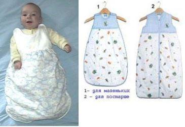 Конверты и спальные мешки для малышей