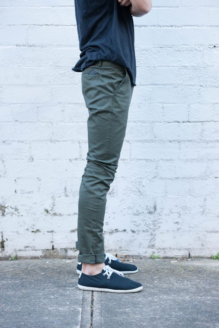 Army Green Chino (Skinny Fit)