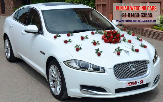 Jaguar Xj L White Color Luxury Wedding Car Hire Available Luxury Cars For Hire In Punjab Chandigarh Punjab Wedding Ca In 2021 Jaguar Xj Luxury Car Hire Wedding Car