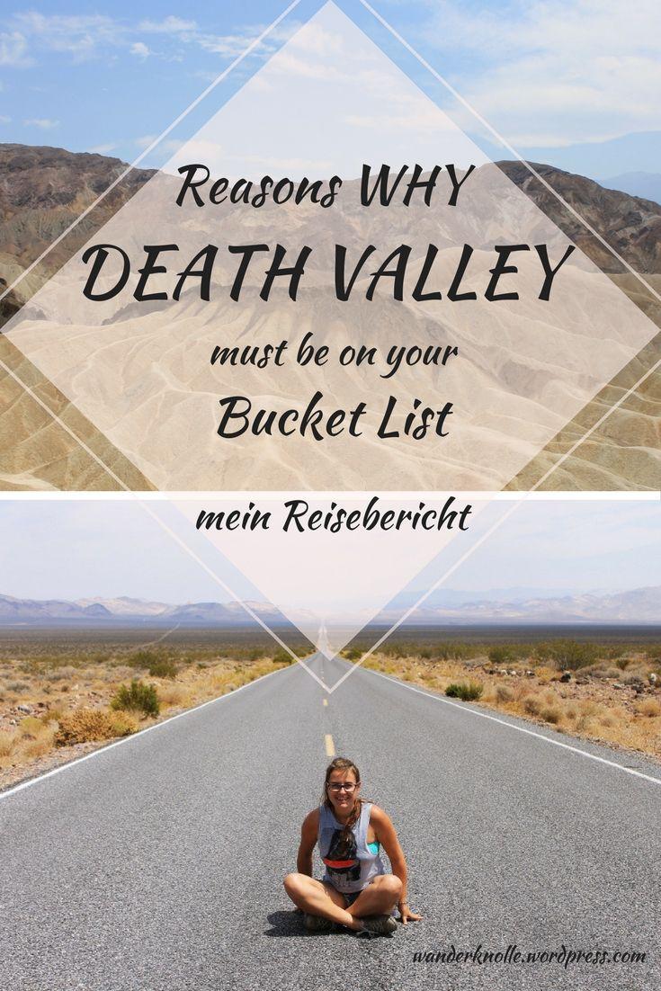 Roadtrip durch die USA, Nevada, Death Valley, mein Reisebericht, Infos und Tipps