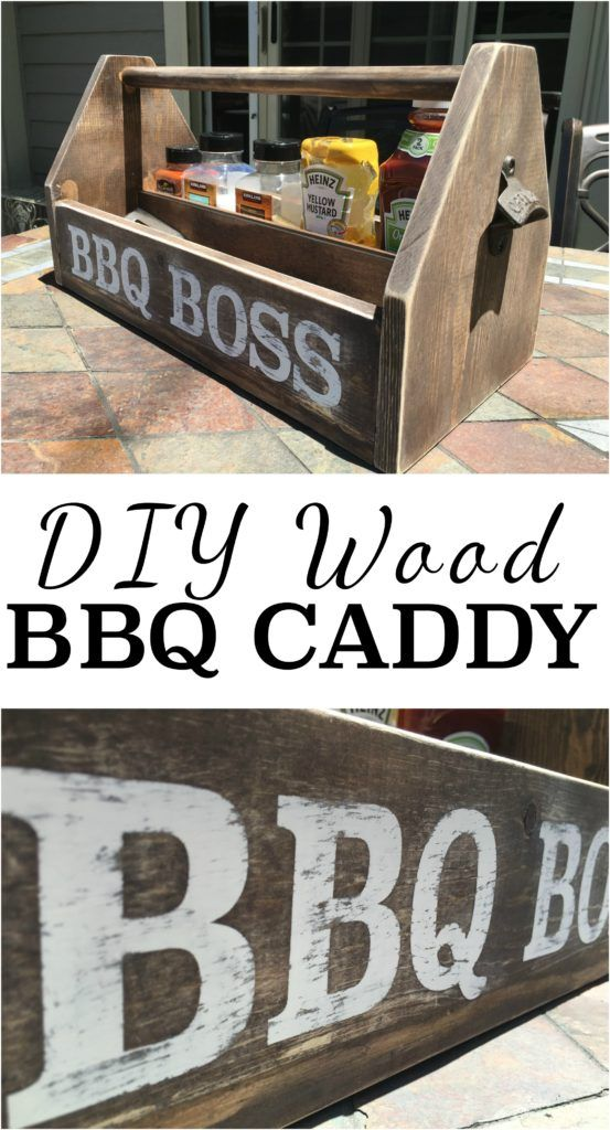 64159 best diy community board images on pinterest bricolage for diy wood bbq caddy solutioingenieria Images