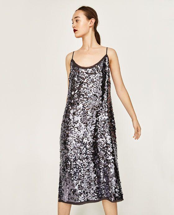 Image 2 of SEQUIN DRESS from Zara
