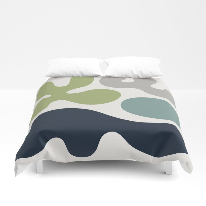 Buy Mid Century Modern Organic Abstraction 344 Duvet Cover By Tonymagnerdesign Worldwide Shipping Available At Society6 Com Duvet Covers Duvet Organic Modern
