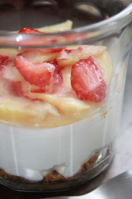 Souped-up Garden: Individual No-Bake Ginger Peach Cheesecake . . . and a tomato harvest in full swing