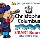This 28 slide SMART Board lesson tells of Christopher Columbus' four voyages across the Atlantic.  It includes a 10 question SMART Board quiz at th...