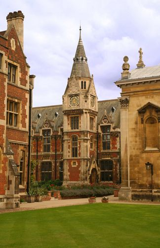 University of Cambridge is the second-oldest university in the English-speaking world (after the University of Oxford), and the fourth-oldest surviving university in the world.  The official founding of Cambridge University is traced to the enhancement, by a charter in 1231 from King Henry III of England, generation 25 on our family tree.