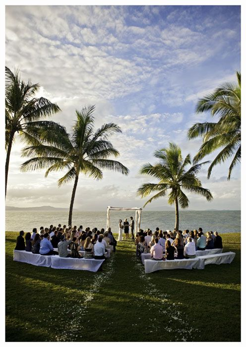 Rex Smeal Park-in the heart of Port Douglas, this stunning location is super versatile, have your ceremony and reception in the same location or St. Marys by the Sea is a short walk away