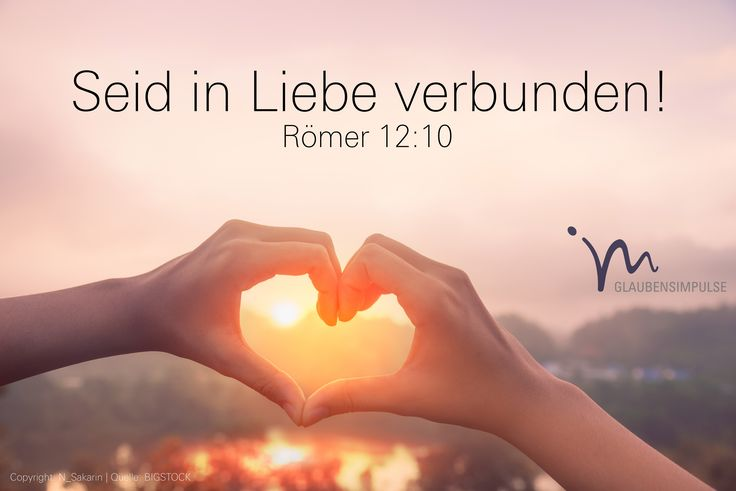 """""""Seid in herzlicher Liebe miteinander verbunden, gegenseitige Achtung soll euer Zusammenleben bestimmen."""" Römer 12:10 #römer #roemer #römer12 #roemer12 #gott #jesus #liebe #herzlich #miteinander #achtung #wertschätzung #wertschaetzung #leben #vertrauen #glaube #glaubensimpulse #bibel #bibelvers"""