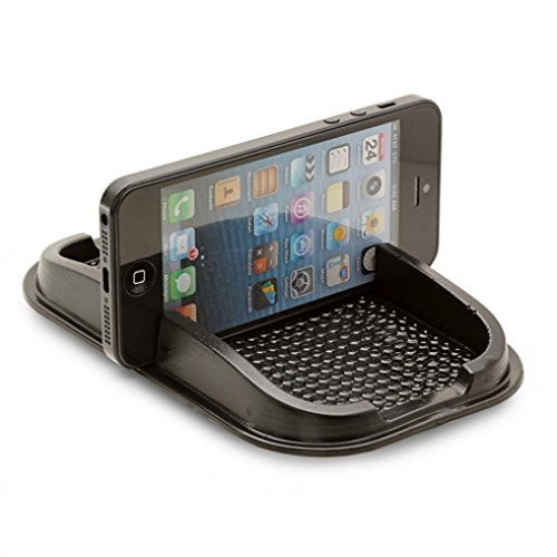 Non-Slip Sticky Pad Car Dash Mount Holder Mat for HTC DEsire 510 610 612 626 626S EYE - LG Optimus F6, F7, F60, F3Q, Tribute 2, G Flex 2, K7 - Blackberry Priv, Z10, Z30, Q10 >>> You can find out more details at the link of the image.