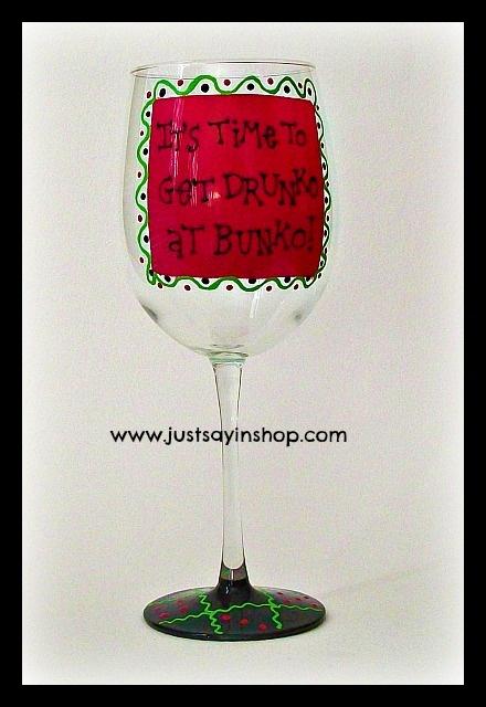 17 best themed baby shower images on pinterest kitchens for Martha stewart christmas wine glasses