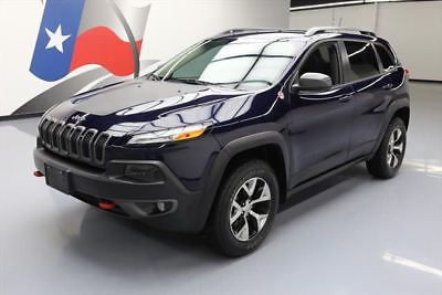 2014 Jeep Cherokee  2014 JEEP CHEROKEE TRAILHAWK 4X4 LEATHER NAV TOW 54K MI #204047 Texas Direct