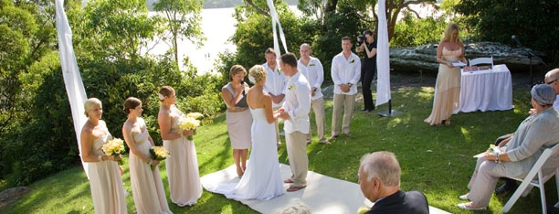 Jodi & Mark Elton marry at Darook Park North, Cronulla NSW Australia  Photo by Jetty Blue Photography
